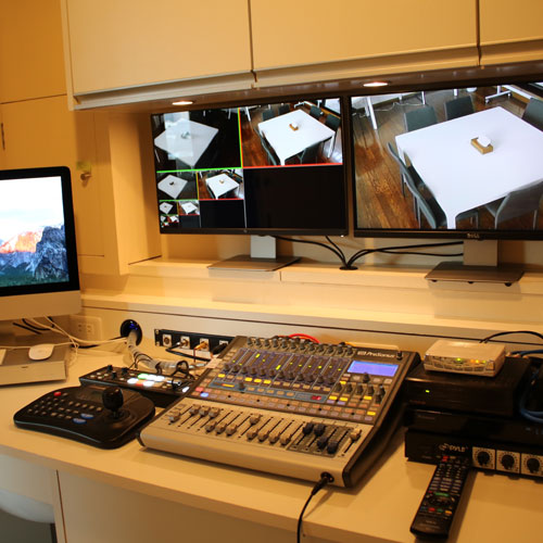 映像・音響設備設計